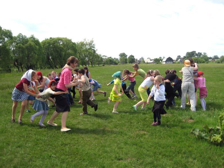 Детские конкурсы на воздухе летом