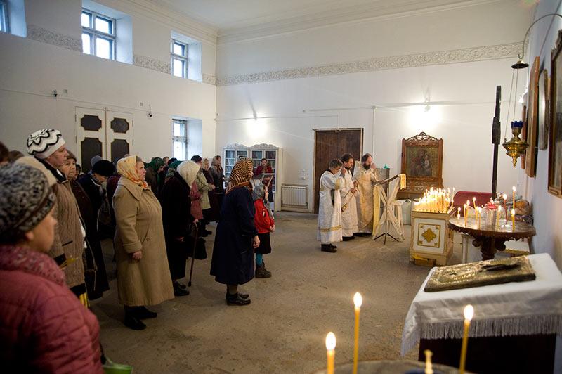 Дмитриевская родительская суббота в нашем храме